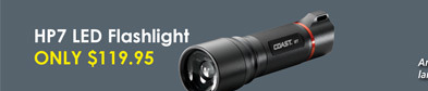 Coast HP7 LED Flashlight