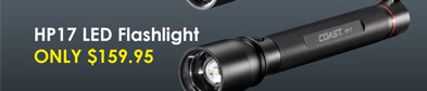 Coast HP17 LED Flashlight