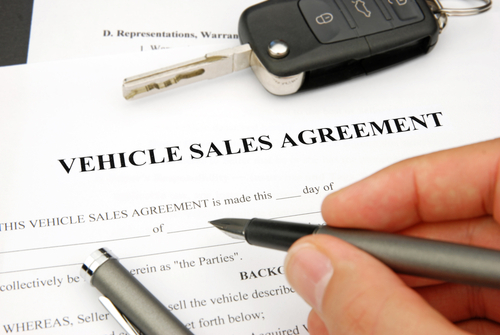 Vehicle Sales Agreement