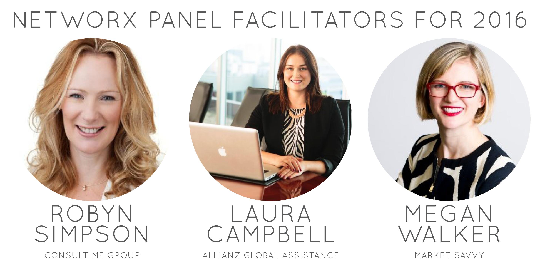Networx Brisbane Panel Facilitators 2016