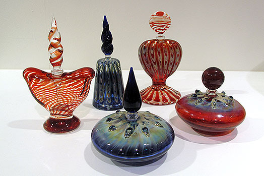 Perfume bottles by Tony Trivett