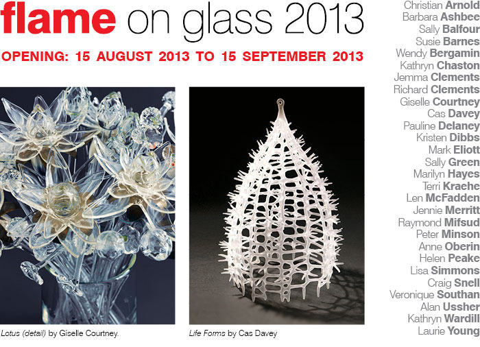Flame on Glass 2013