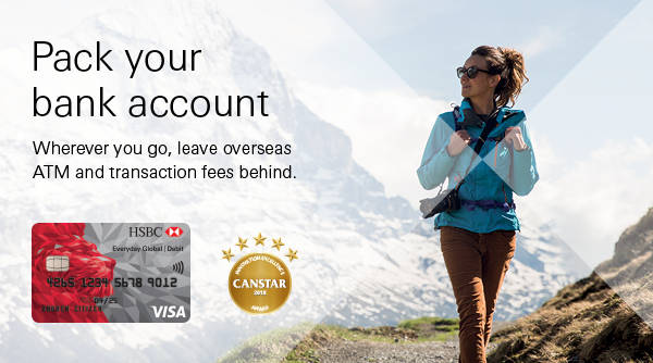 No overseas transaction fees and up to 10 currencies