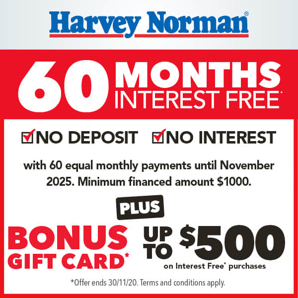 Harvey Norman Offer