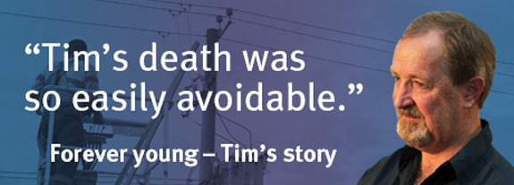 Forever young - Tim's story