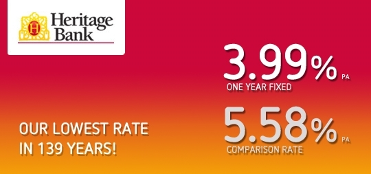 Our lowest rate in 139 years!